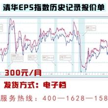 清华EPS指数历史记录报价单