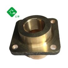 6分水管接头配件铜件六分快速接头洗车水管接头水枪快接 通水快接