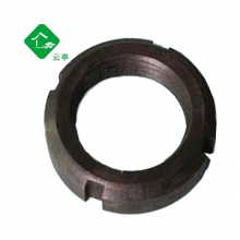 圆螺母 碳钢 国标 GB812 圆螺帽 带槽螺母 锁紧螺母