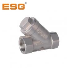供应 ESG青岛精锐 不锈钢 Y型弹簧止回阀 批发 DN80 DN100