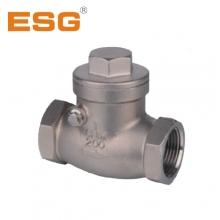 供应 ESG 青岛精锐 不锈钢工业用 旋启式止回阀 DN80 DN100